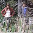 Fifty Shades of Grey : Jamie Dornan et Dakota Johnson en tournage le 24 octobre 2014 à Vancouver