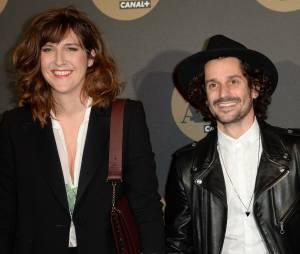 Daphné Bürki et Gunther Love pour la soirée des 30 ans de Canal+ au Palais de Tokyo, le 4 novembre 2014