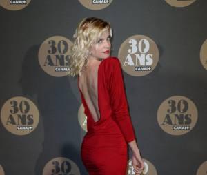 Cécile Cassel pour la soirée des 30 ans de Canal+ au Palais de Tokyo, le 4 novembre 2014