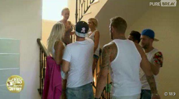 Les Ch'tis dans la Jet Set : les candidats rentrent dans leur villa