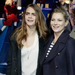 Cara Delevingne et Kate Moss illuminent Paris et le Printemps