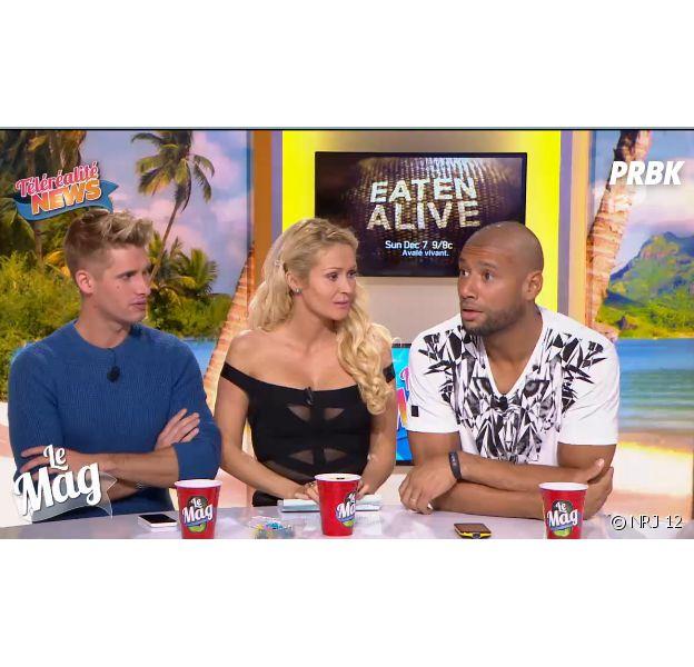 Tatiana Laurens et Xavier Delarue (L'île des vérités 4) parlent de leur vie sexuelle dans Le Mag