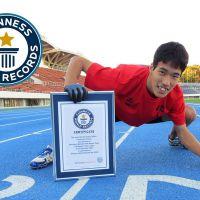 Japon : il bat le record du monde du 100 mètres... à quatre pattes