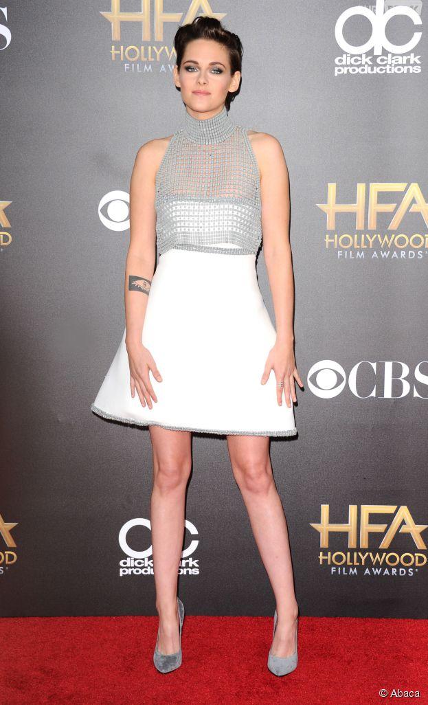 Kristen Stewart lors des Hollywood Film Awards 2014, le 14 novembre à Los Angeles