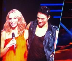 Tonya Kinzinger et Maxime Dereymez dans Danse avec les stars 5, le 15 novembre 2014 sur TF1