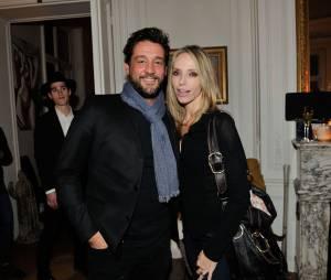 Titoff et Tonya Kinzinger à la soirée des 25 ans du Queen, le 17 novembre 2014 à Paris