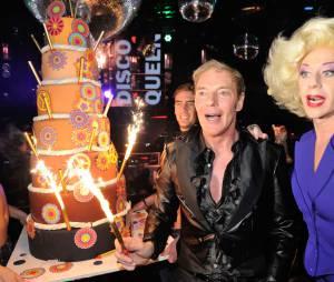 Tony Gomez fête les 25 ans du Queen, le 17 novembre 2014 à Paris