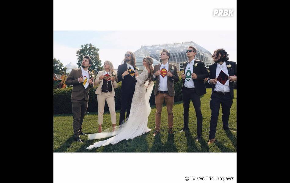 Mon incroyable fiancé 3 : Eric Lampaert et Jordan lors de leur mariage