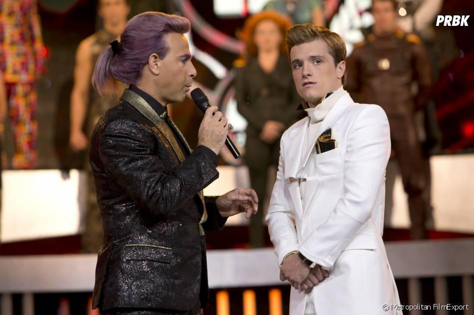 Hunger Games 2 : Josh Hutcherson et Stanley Tucci