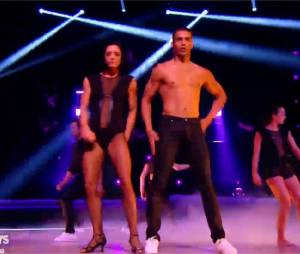 Brahim Zaibat dans Danse avec les Stars 5 le 22 novembre 2014 sur TF1
