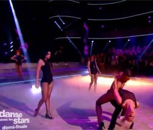 Brahim Zaibat et Katrina dans Danse avec les Stars 5 le 22 novembre 2014 sur TF1