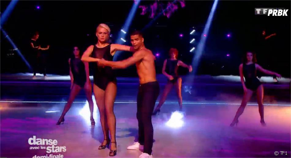 Brahim Zaibat et son ex-partenaire Katrina Patchett dans Danse avec les Stars 5 le 22 novembre 2014 sur TF1