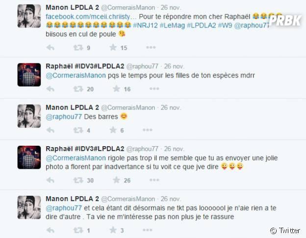 Les Princes de l'amour 2 : Raphaël VS Manon, clash sur Twitter
