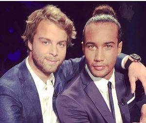 Koh Lanta 2014 : Martin et Laurent pendant la grande finale, le 21 novembre 2014