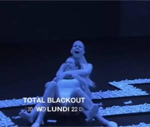Total Black Out avec Les Marseillais Jessica, Kim, Stéphanie et Paga, le 22 décembre 2014 sur W9