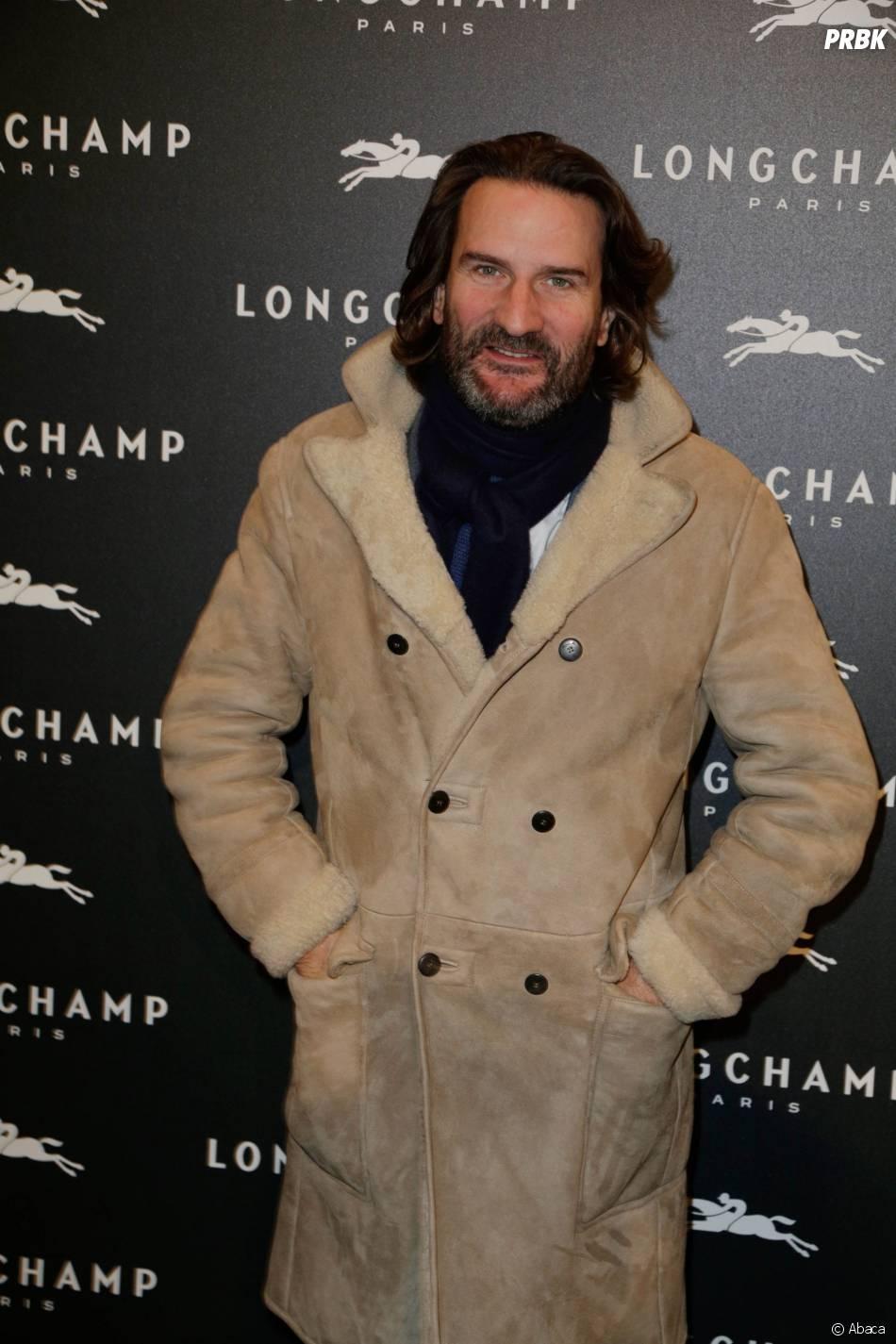 Frédéric Beigbeder à l'ouverture de la boutique Longchamp sur les Champs Elysées à Paris, le 4 décembre 2014