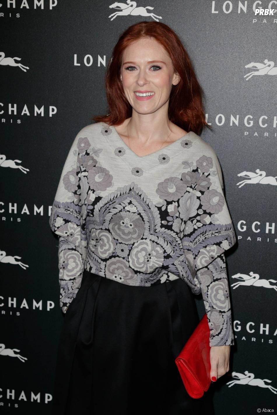 Audrey Fleurot à l'ouverture de la boutique Longchamp sur les Champs Elysées à Paris, le 4 décembre 2014