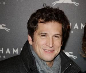 Guillaume Canet à l'ouverture de la boutique Longchamp sur les Champs Elysées à Paris, le 4 décembre 2014