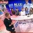 """Matthieu Delormeau fait la promotion de l'émission de Cauet """"Qui allez vous croire ?"""" dans Le Mag de NRJ 12"""