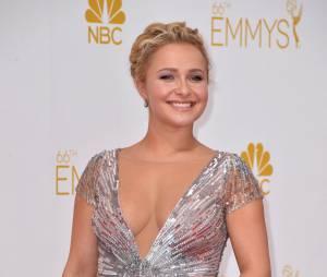Hayden Panettiere enceinte pendant les Emmy Awards 2014