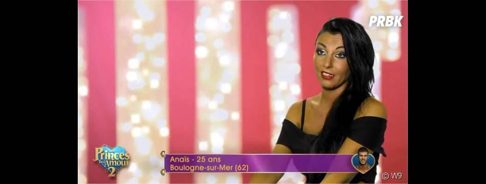 Anaïs (Les Princes de l'amour 2) nouvelle concurrente de Siham dans l'épisode du 15 décembre 2014 sur W9
