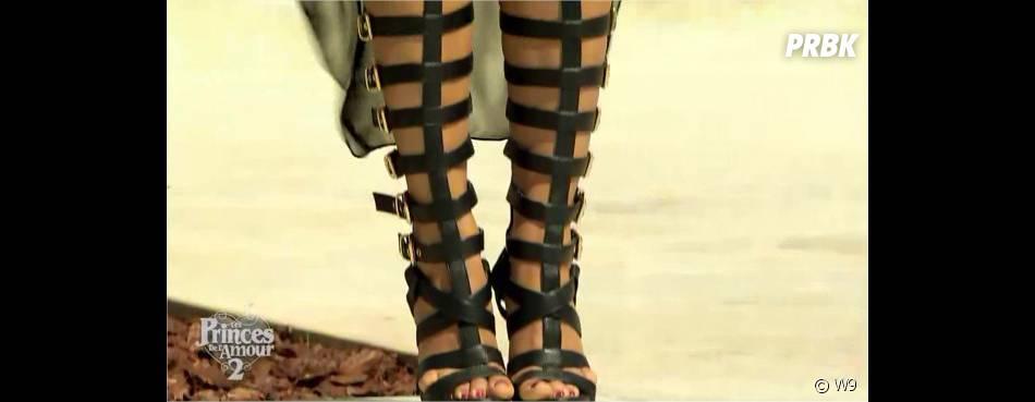 Léa (Les Princes de l'amour 2) : ses chaussures de spartiate font le buzz dans l'épisode du 15 décembre 2014 sur W9