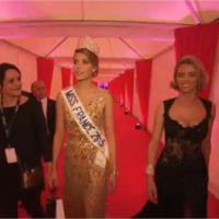 Camille Cerf et son petit ami Maxime : bisou et mots d'amour après la soirée Miss France 2015