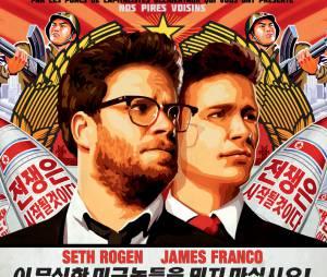 James Franco et Seth Rodgen : la sortie de The Interview annulée