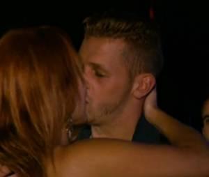 Gaëlle et Jordan (Les Ch'tis dans la Jet Set) : leur premier baiser