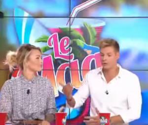 Caroline Receveur annonce qu'elle quitte Le Mag de NRJ 12, le 10 septembre 2014