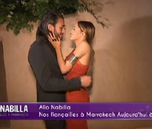 Nabilla Benattia et Thomas Vergara : fiançailles à Marrakech dans Allô Nabilla