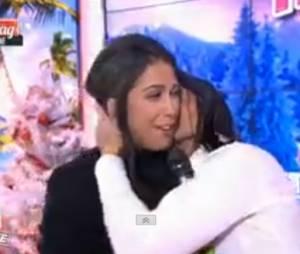 Ayem Nour en larmes dans Le Mag de NRJ 12, le 5 décembre 2014