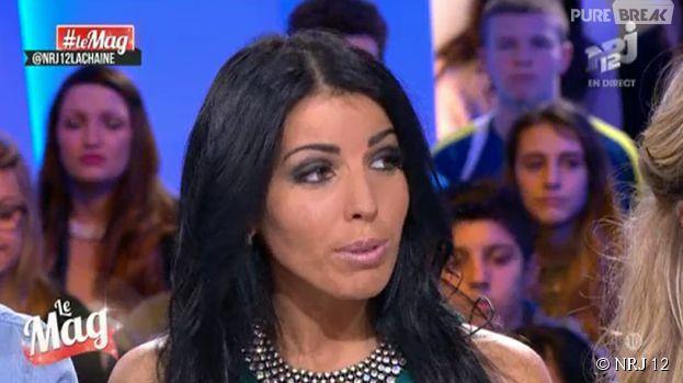 Siham Bengoua (Les Princes de l'amour 2) clashe Anaïs Sanson dans Le Mag de NRJ 12, le 18 décembre 2014