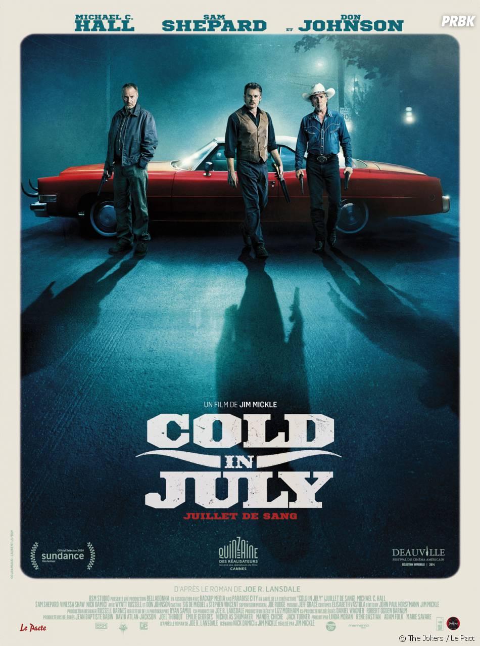 Cold in July : affiche du film
