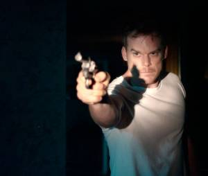 Cold in July : Michael C. Hall sur une photo du film