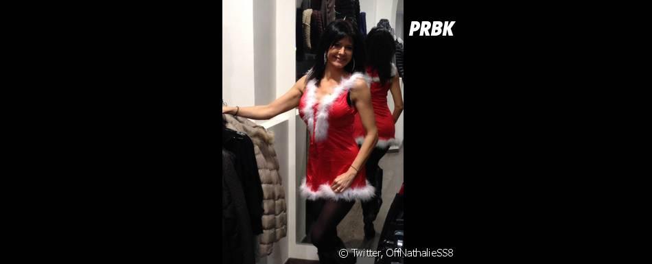 Nathalie (Secret Story 8) au coeur des critiques à cause de son costume de mère Noël sexy