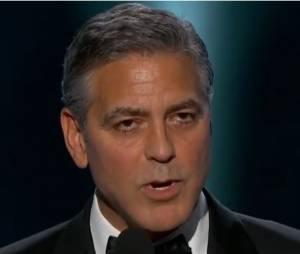 """George Clooney : """"Je suis Charlie"""" en français aux Golden Globes 2015"""