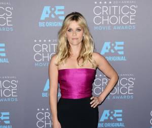 Reese Witherspoon sur le tapis rouge de la 20e cérémonie des Critics' Choice Awards 2015, à Los Angeles le 15 janvier 2015