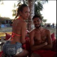 Vanessa Lawrens sexy en bikini avec Julien Guirado pour la promo de La Maison du Bluff 5