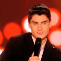 The Voice 4 : David Thibault, l'Elvis québécois qui a déjà fait le buzz à la télé américaine