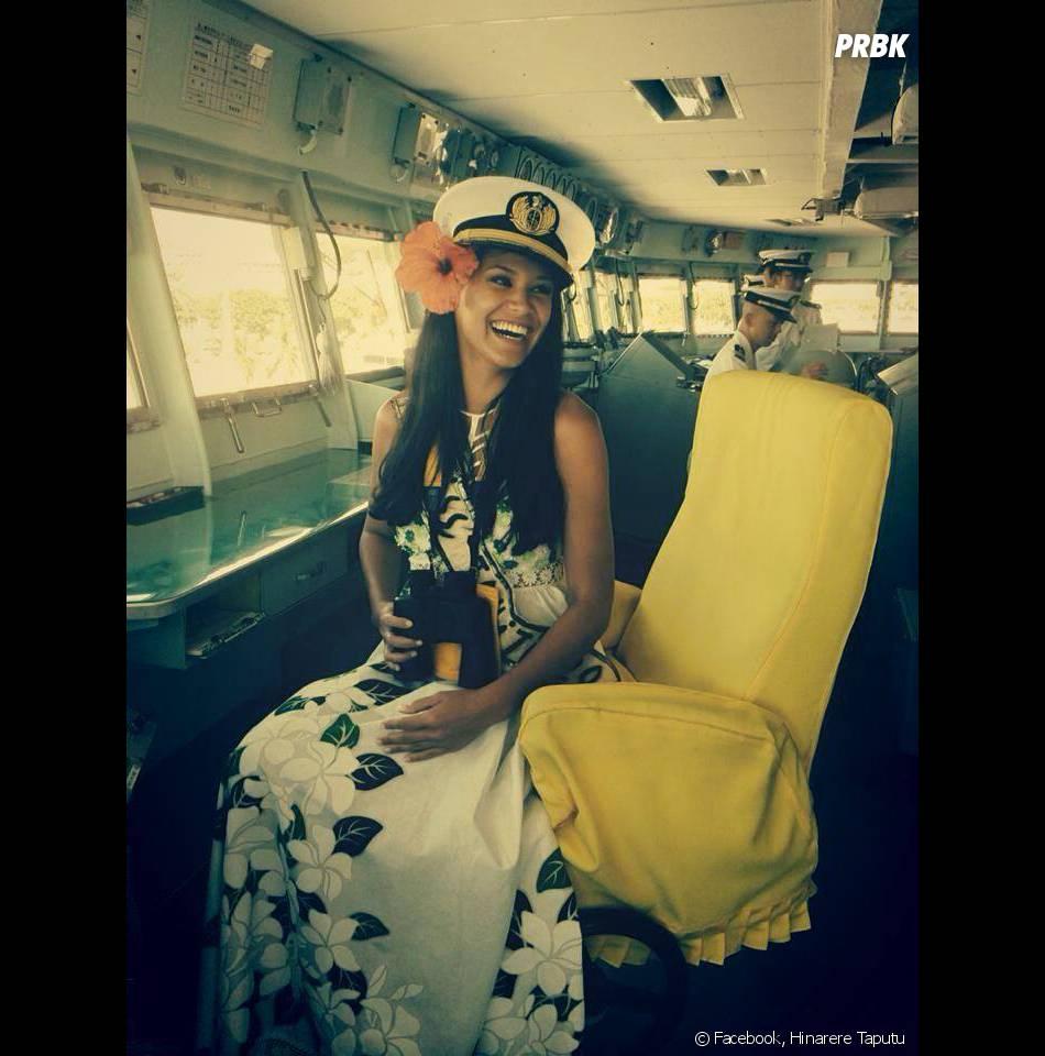 Hinarere Taputu (Miss Tahiti) pour remplacer Camille Cerf au titre de Miss France 2015 ?