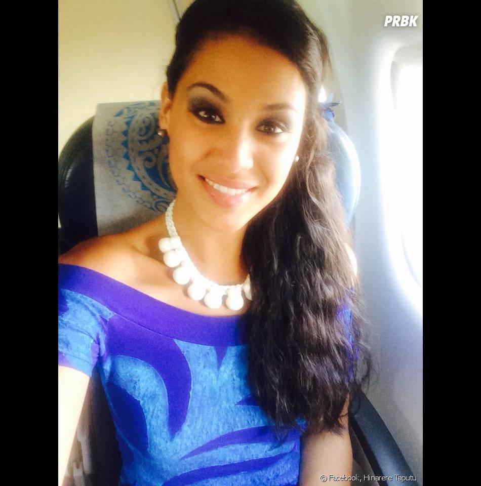 Hinarere Taputu (Miss Tahiti), la remplaçante de Camille Cerf ?