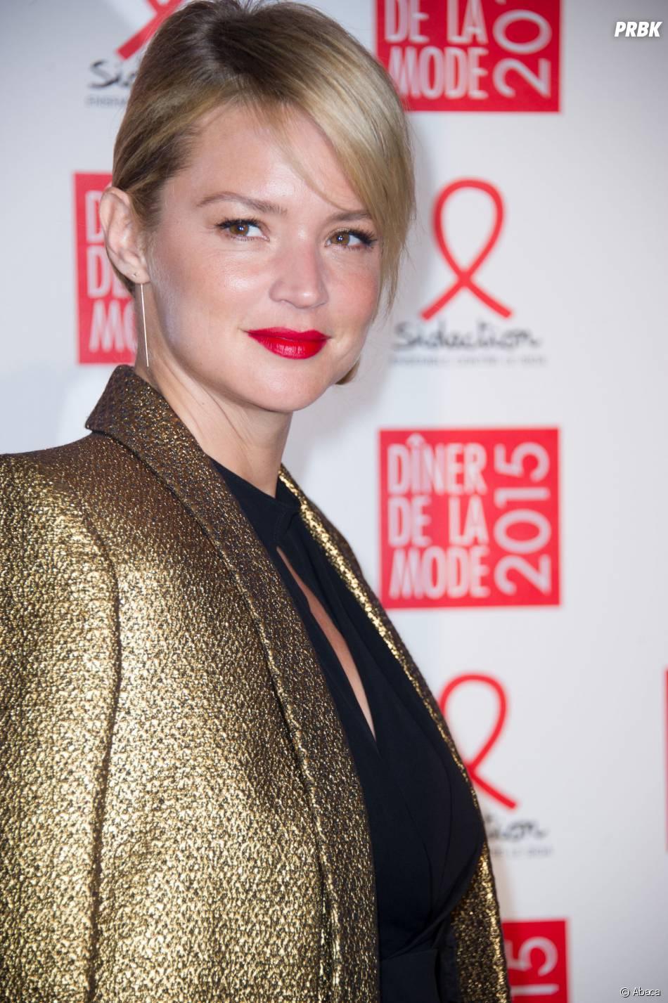 Virginie Efira au gala du Sidaction, le 29 janvier 2015 à Paris