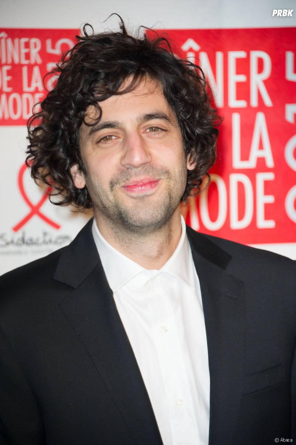 Max Boublil au gala du Sidaction, le 29 janvier 2015 à Paris