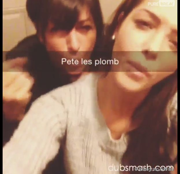 Nabilla Benattia et sa maman font du Dubsmash sur Instagram
