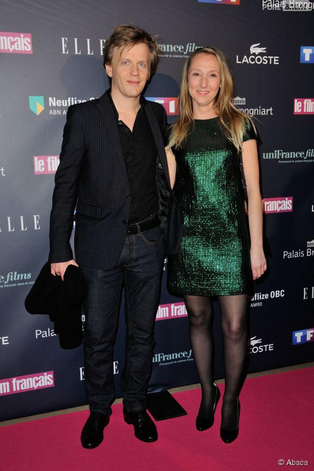 Audrey Lamy et Alex Lutz aux Trophées du Film Français, le 12 février 2015 à Paris