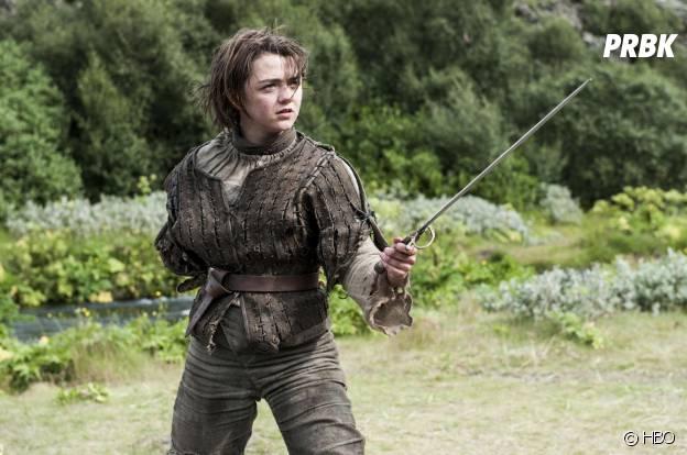 Game of Thrones saison 4 : Arya sur une photo