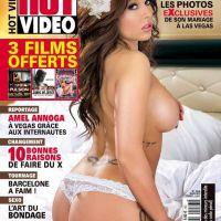 Kelly Helard seins nus, avec un tout petit string : nouvelle couverture à moitié nue pour Hot Vidéo