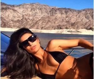 Anara Atanes décolletée en bikini : la petite-amie de Samir Nasri fait monter la température sur Instagram, le 19 juin 2014