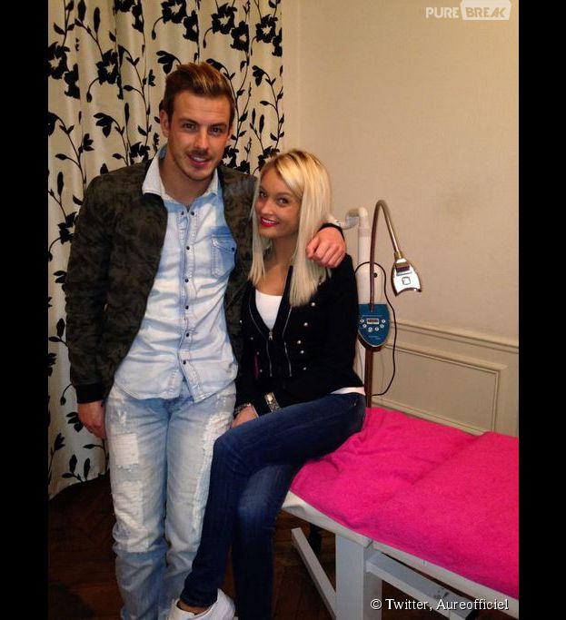 Aurélie Dotremont et Julien Bert, un couple pas comme les autres